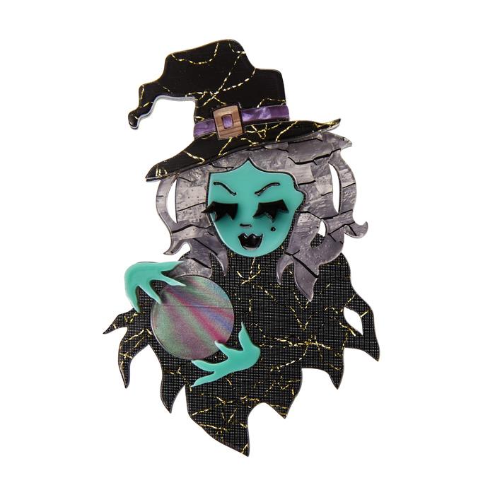 Erstwilder witch brooch