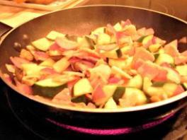 frying baco
