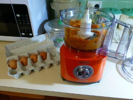 orange ronson food mixer