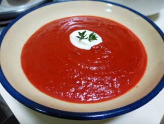 pumpkin beetroot soup