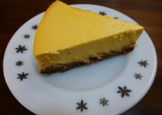 pumpkin cheese cake