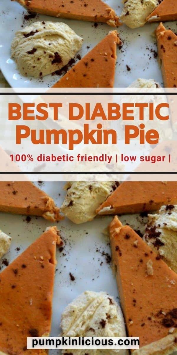 best diabetic pumpkin pie