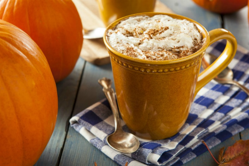 A cup of the best pumpkin spice coffee