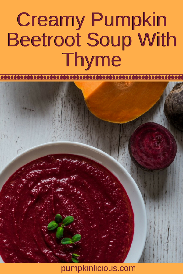This easy to make beetroot and pumpkin soup is as healthy as they come. Creamy soups are simple, yet some of the best comfort foods. Blended to smooth perfection, you'll be surprised at how well these 2 vegetables get along. YUM!