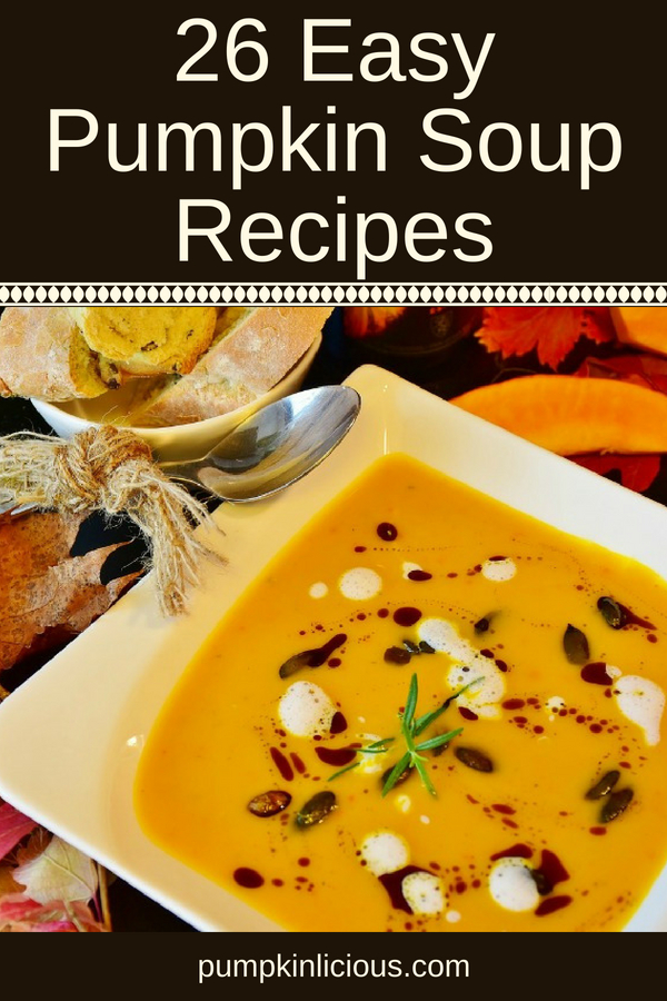 Easy Pumpkin Soup Recipes