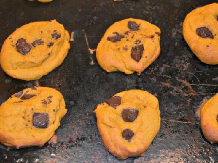 Easy Pumpkin Chocolate Chip Cookies Recipe