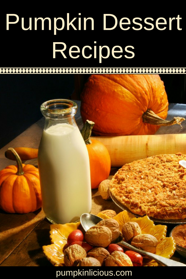 If you're looking for some quick and easy pumpkin dessert recipes for Thanksgiving, this is a collection that has just about every pumpkin treat you can imagine: cupcakes, bars, cheesecake, cookies, puddings, and more.