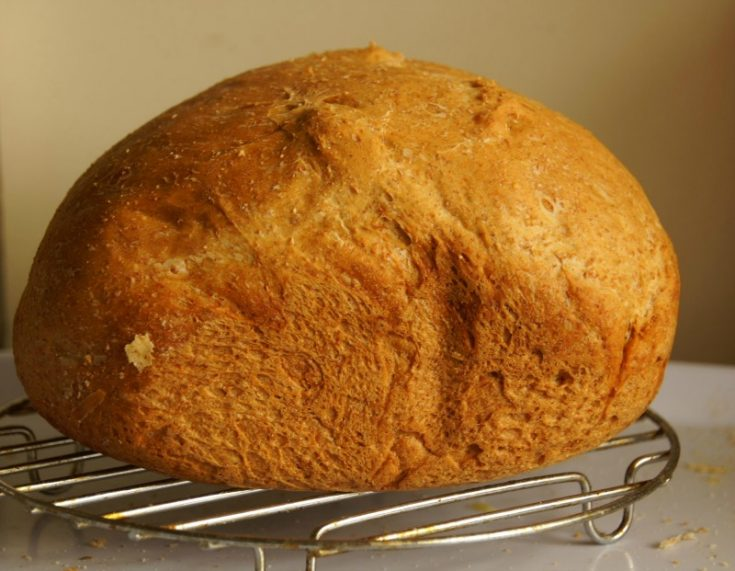 Bread Machine Pumpkin Bread