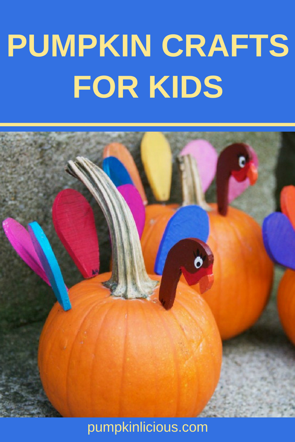 With fall comes lots of opportunities to enjoy pumpkin crafts with the kids. Here you'll find plenty of easy and fun ideas for crafts with pumpkins: from painting to science experiments, and for kids of all ages. #pumpkins #pumpkincrafts #kidscrafts #kidsactivities #thanksgiving #thanksgivingcrafts #fallcrafts