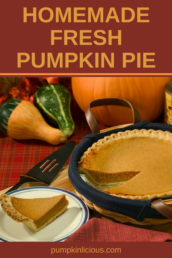 Do you wonder if a fresh homemade pumpkin pie from scratch would be too hard? I promise you it's not, and your kids will have a lot of fun scooping out the seeds and pumpkin flesh. Learn how to make pumpkin crust and filling it with pumpkin puree you make yourself. Try this simple, easy, and healthy recipe. #pumpkinpie #pumpkin #thanksgiving #familymeals #recipes #fallrecipes #freshpumpkinrecipes