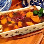 Lamb and pumpkin casserole