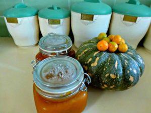 Pumpkin and cumquat jam