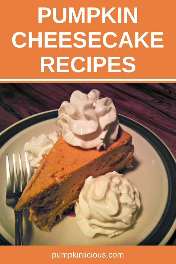 Looking for some simple fall pumpkin cheesecake recipes? These homemade cheesecakes made from scratch are easy to make and they are perfect holiday desserts. Add some chocolate or ginger for the best cheesecake ever. #pumpkin #cheesecake #holidaydesserts #thanksgiving #recipes #dessertrecipes #pumpkinrecipes