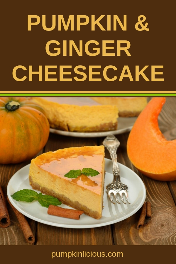 This pumpkin cheesecake make with gingersnap cookies is the ultimate sweet ending to your Thanksgiving dinner. An absolutely delicious combination of pumpkin pie and cheesecake, ginger snap and pecans are genius! A Thanksgiving hit your family and friends will rave about. #gingersnap #pumpkin #cheesecake #Thanksgiving #holidaydesserts #christmasdessertrecipe #dessertrecipes #recipes