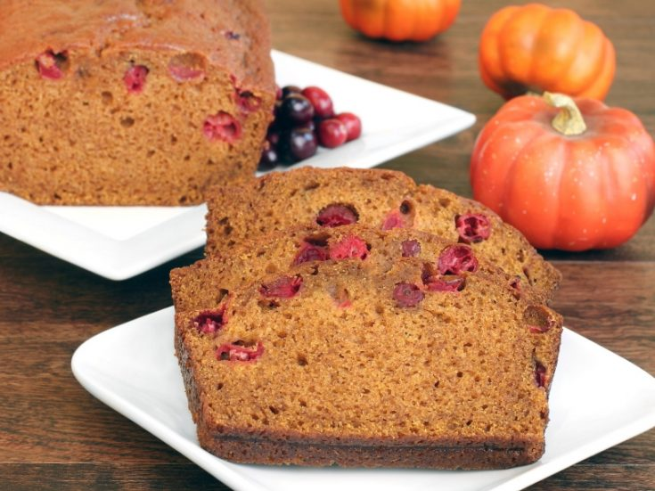 Pumpkin Cranberry Bread Recipe