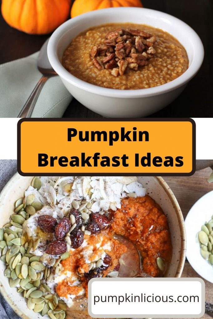 pumpkin recipes for breakfast