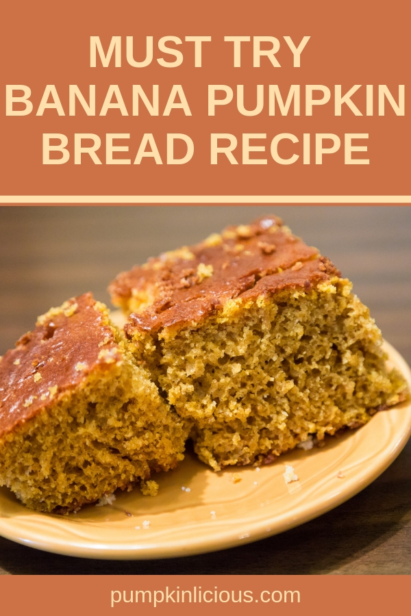 Autumn is the perfect time for baking delicious breads for your family. This banana pumpkin bread recipe is easy to make, moist, and flavored with your favorite fall spices. Add some chocolate chips if you want a decadent version of it, or a bit of cream cheese for a quick but satisfying breakfast. #pumpkinlicious #pumpkinbread #pumkinbreadrecipe #recipes #fallrecipes #pumpkinbreads #pumpkin #fallbreads