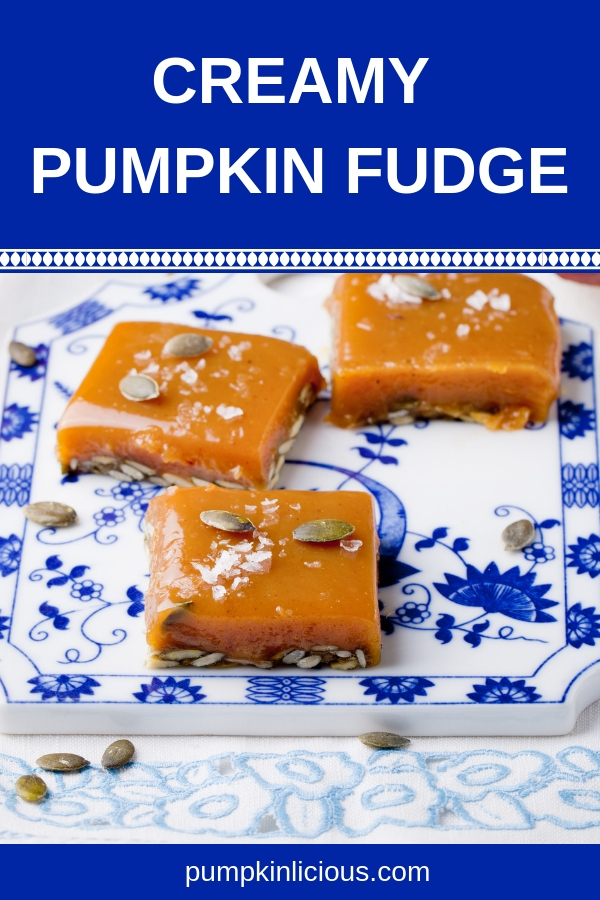 Creamy pumpkin fudge recipe