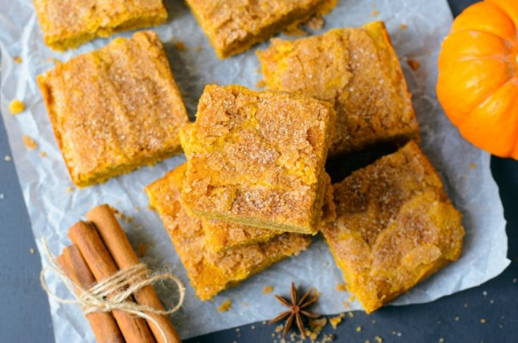 Easy To Make Pumpkin Bars