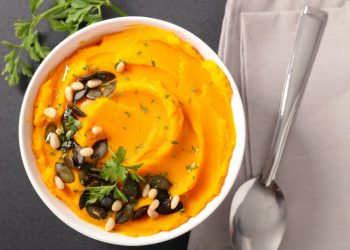 Mashed Pumpkin Side Dish With Potatoes