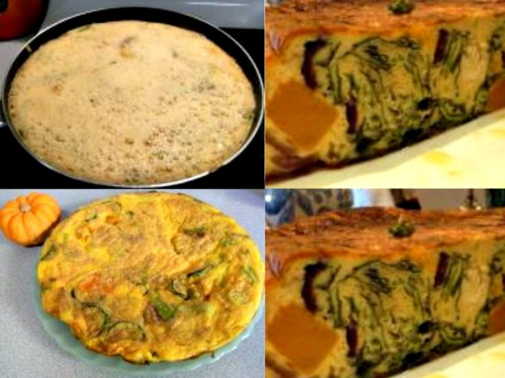 Spanish Pumpkin Tortilla - Hearty and Delicious