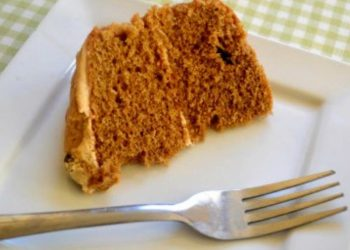 Cofffe cake with pumpkin