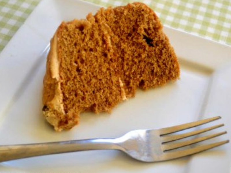 Cofffe cake with pumpkin