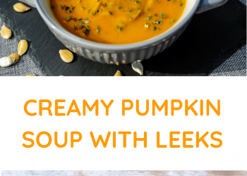 leek soup with pumpkin