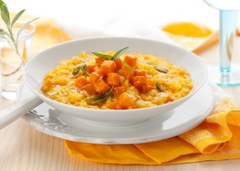 chicken pumpkin risotto