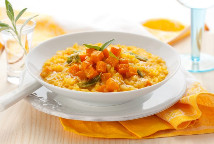Chicken Pumpkin Risotto - It's whats for Dinner