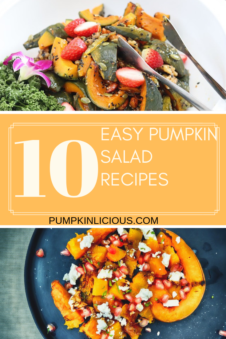Pumpkin salad healthy recipes