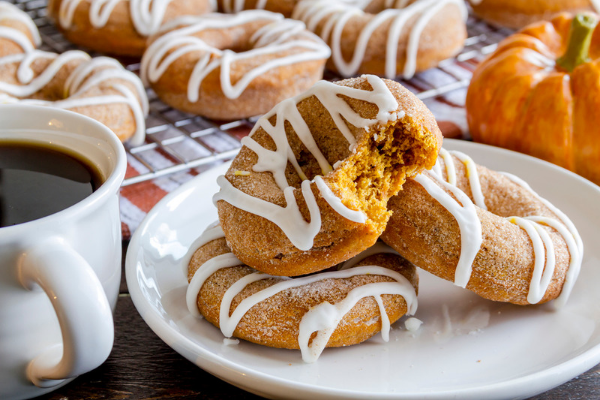 Pumpkin Donut Recipe