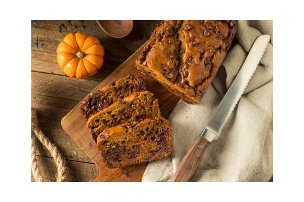 pumpkin chocolate chip bread recipe easy