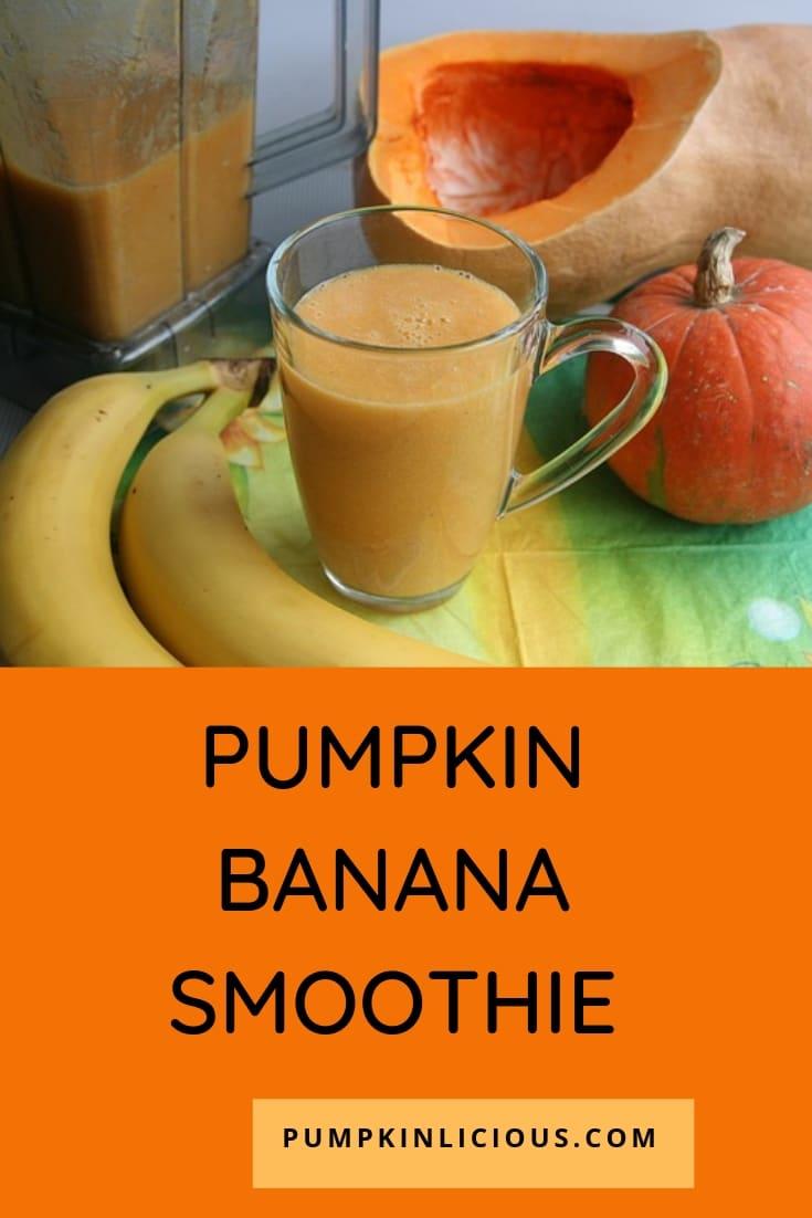 pumpkin banana smoothie healthy