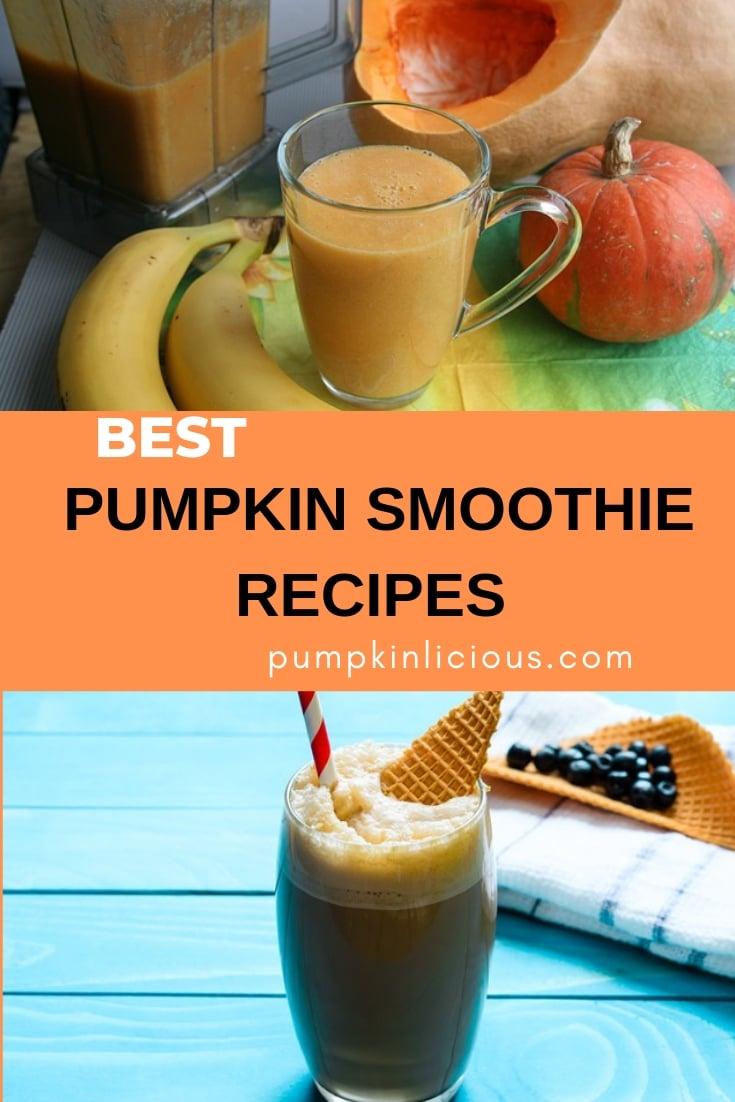 best pumpkin smoothie recipes