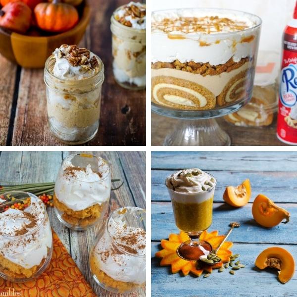 pumpkin trifle recipes thanksgiving