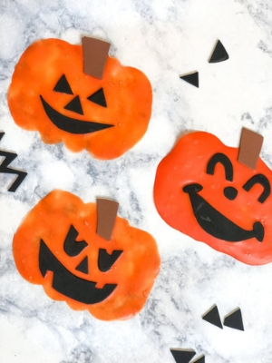 foam pumpkin craft ideas