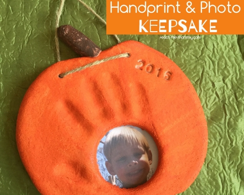 pumpkin craft keepsake