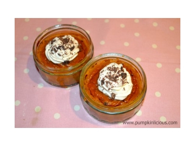 pumpkin custard desserts