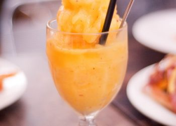 pumpkin mango smoothie
