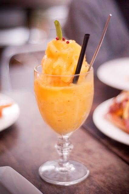 pumpkin mango smoothie