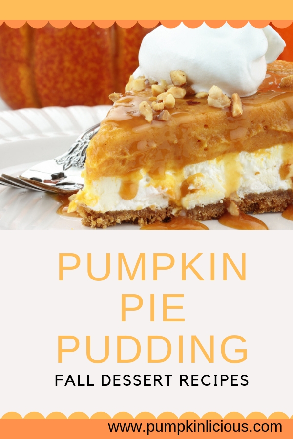 pumpkin pie pudding easy