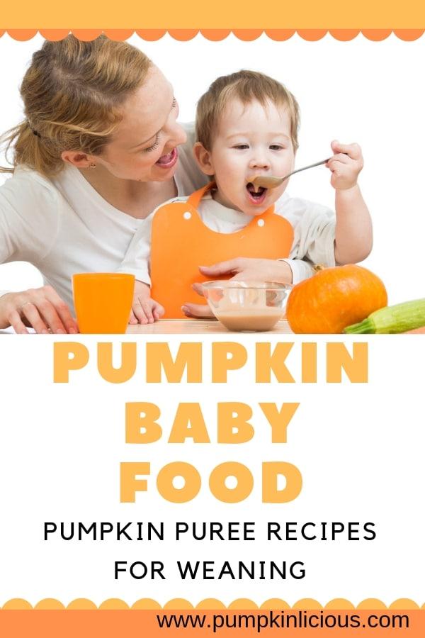 pumpkin puree recipes for baby