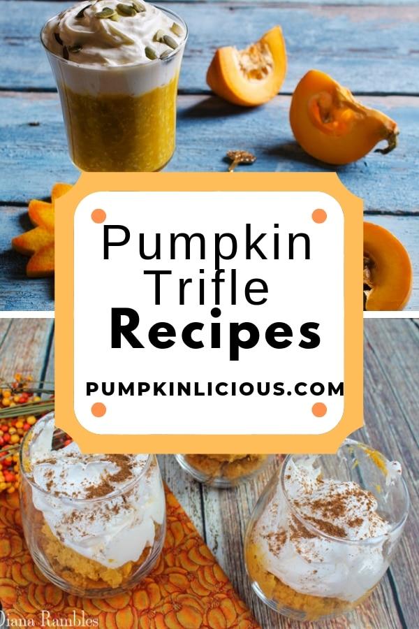 pumpkin trifle pudding recipes