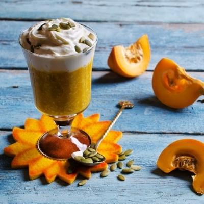 pumpkin trifle with banana