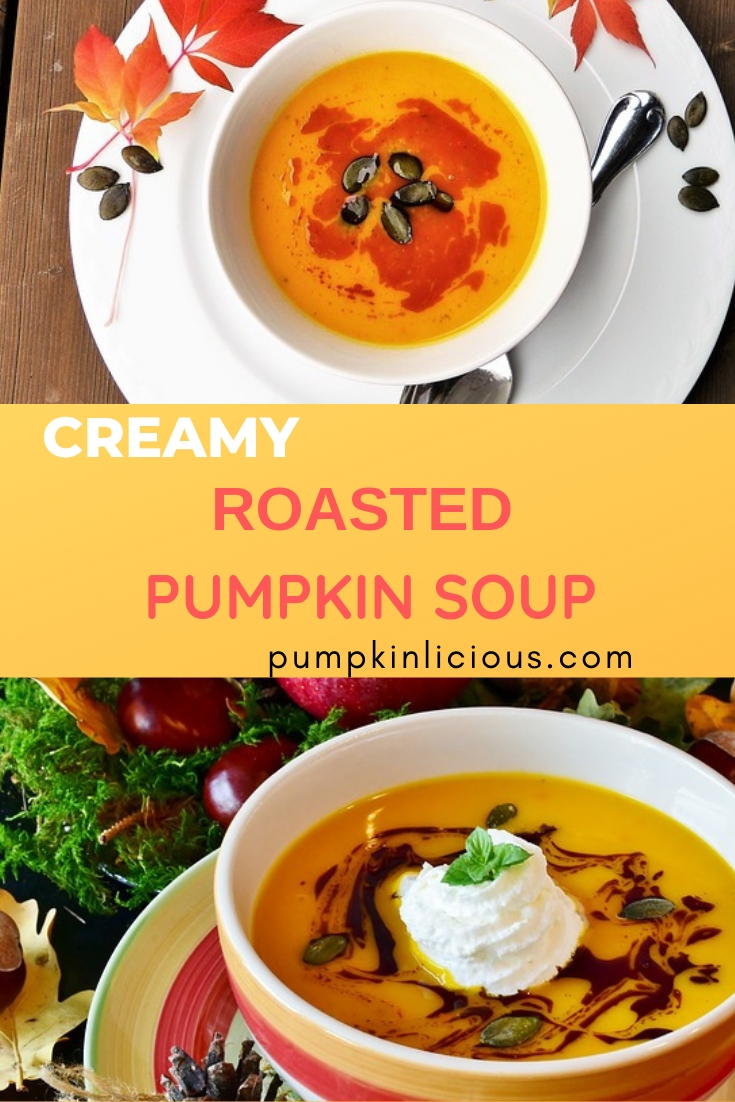 roasted pumpkin soup easy