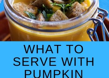 what to serve with pumpkin soup