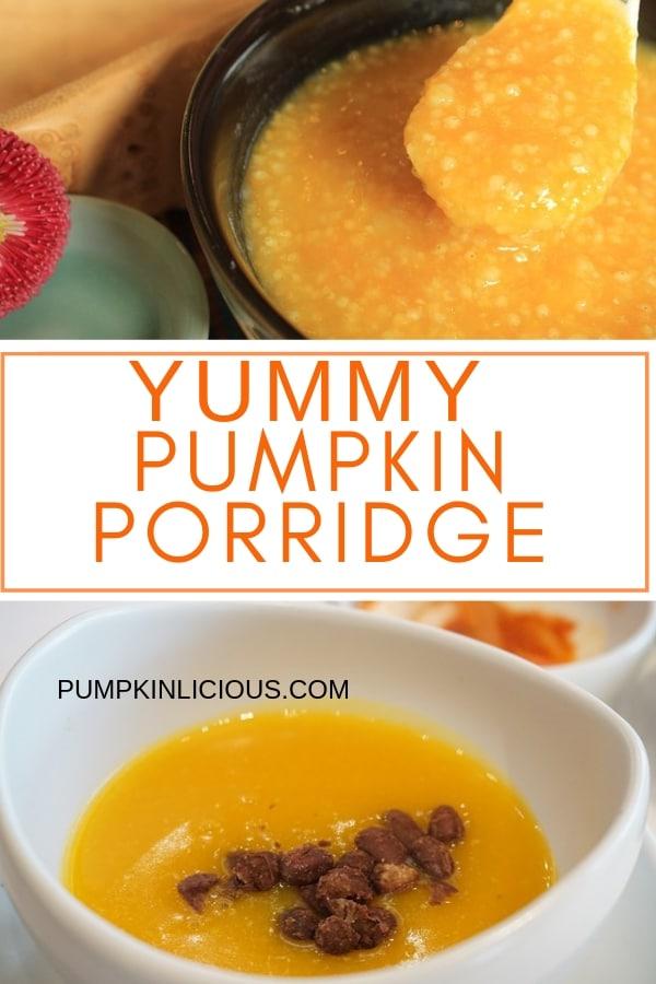 Pumpkin Porridge Mornings