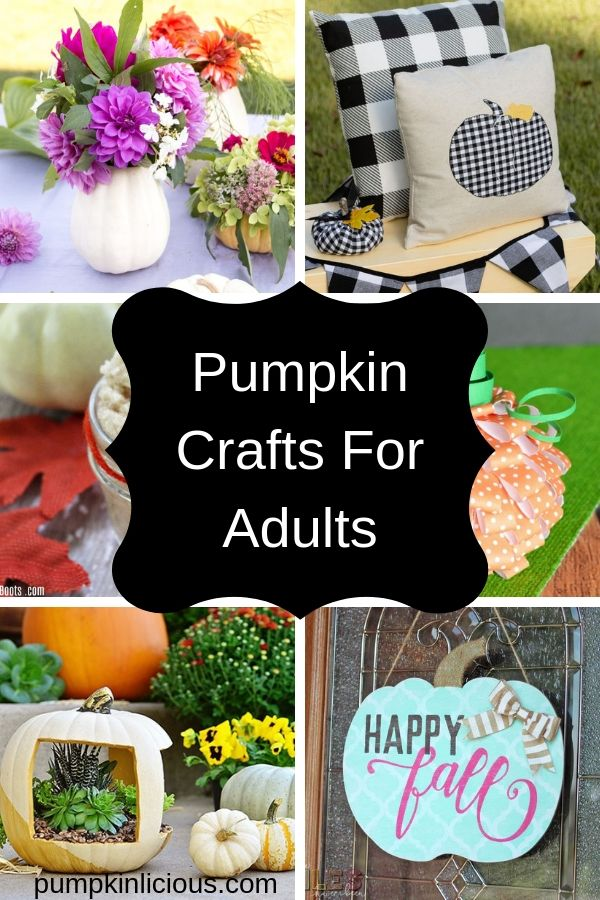 Easy Pumpkin Crafts For Adults This Fall