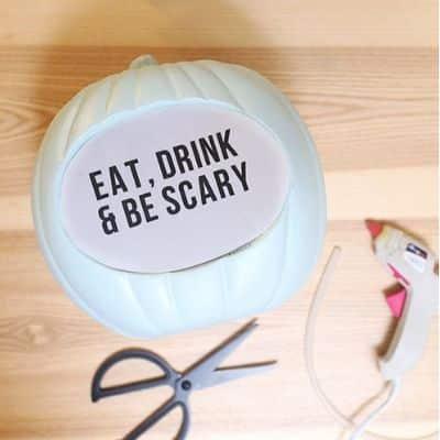 light up pumpkin crafts for adults